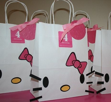 Ideas para tu cumpleaños Hello Kitty