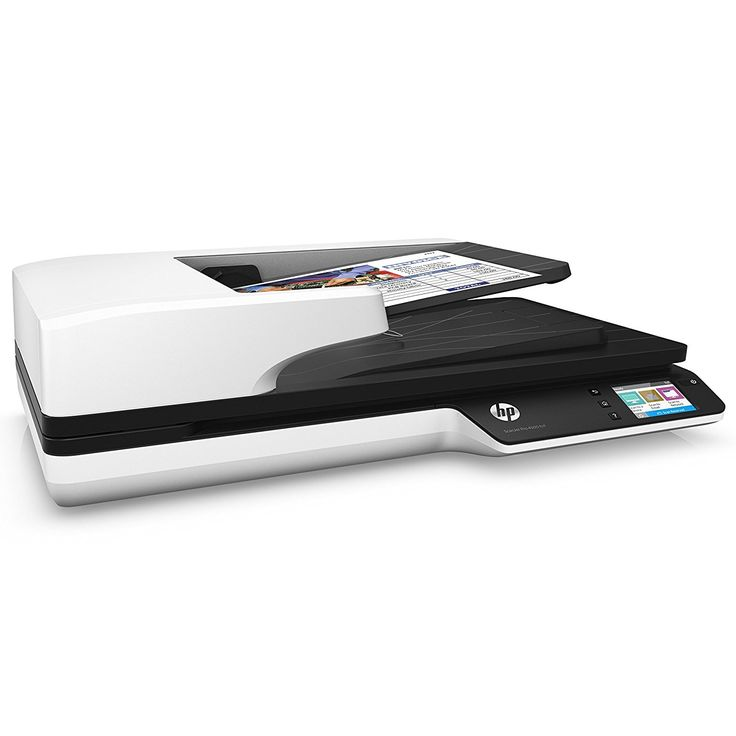 The HP SCANJET PRO 4500 NETWORK SCANNER