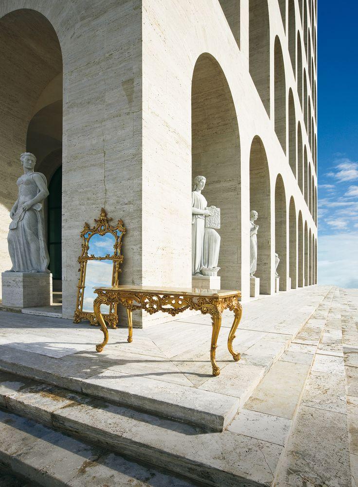 OAK - Mobili e arredamenti classici / foto catalogo Enrico Colzani • by GattiCitterioSchuler