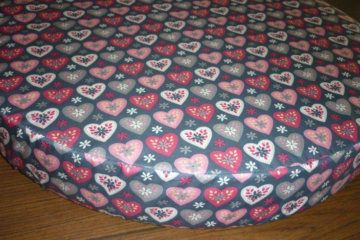 Round bassinet sheet custom made