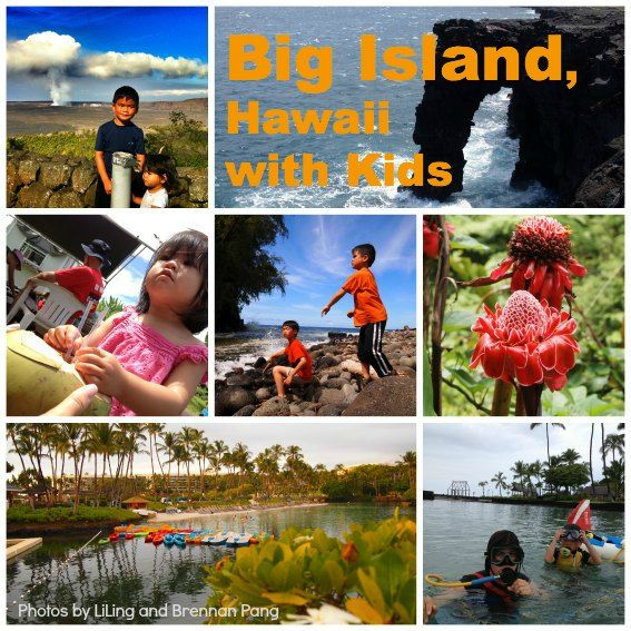 Hawaii, the Big Island offers kids amazing encounters with nature without families having to rough it at all.  Walk inside lava tubes, into craters, get up close with red hot molten lava, swim with manta rays, while staying at a 5 star family-friendly resort.  Could not be more perfect for budding natural scientists.  Trekaroo - reviews of kid-friendly destinations.
