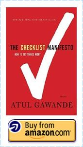 The Checklist Manifesto: How to Get Things Right by Atul Gawande #sport #coaching #success #books
