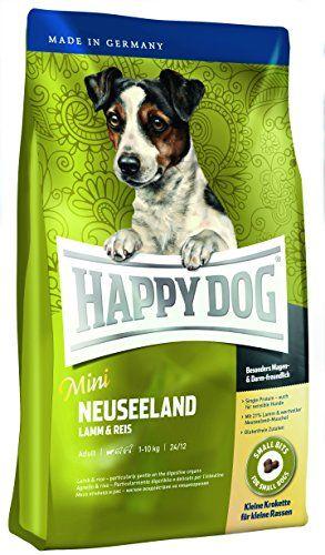 """Aus der Kategorie Trockenfutter  gibt es, zum Preis von EUR 17,89  Happy Dog Supreme Mini Irland<br /> Besonders kleine Kroketten für kleine Hunderassen. Ideal zur Fütterung bei Fell- und Hautproblemen oder Allergien. Das schmackhafte Super-Premium Hundefutter """"my little"""" Irland, wird mit reinem Lachs und leckerem Kaninchenfleisch hergestellt und mit leicht verdaulichem Hafer und Kartoffeln verfeinert. <br /> <br /> Zusammensetzung<br /> Gerste, Lachsmehl (12%), Kaninchenmehl (11%)…"""
