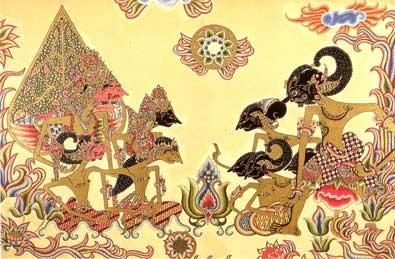 wayang kulit from middle java