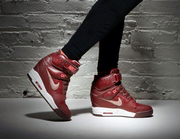 Black Nike Air Wedge Max Sneaker 5Aj4RL3