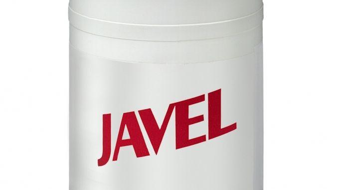 """Die einzige Möglichkeit Stockflecken zu entfernen, ist Javel Wasser. Dies ist eine Hypochloridlösung und wird in Drogeriemärkten (zum Beispiel der, der mit D anfängt und M endet) unter """"Eau de Javel"""" verkauft."""