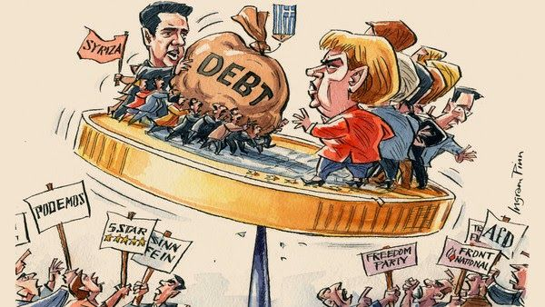 Europe cannot agree to write off Greece's debt
