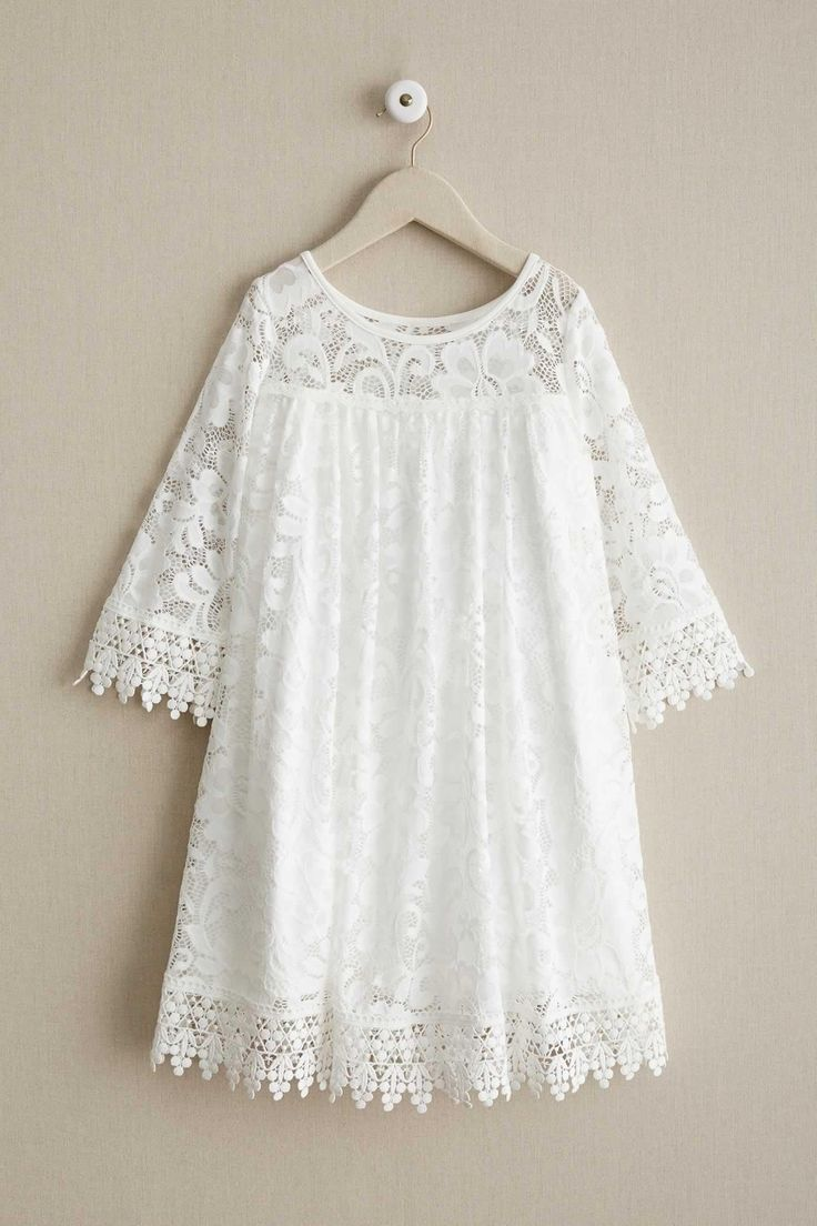 Girls Dreamy Lace Dress | Chasing Fireflies