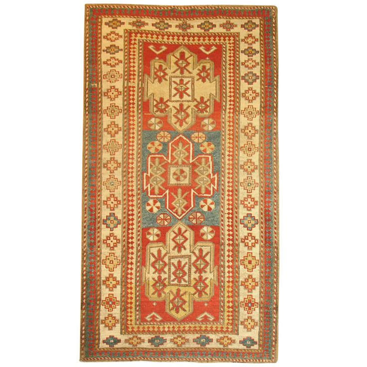 Antique Bordjalou Kazak Rug |