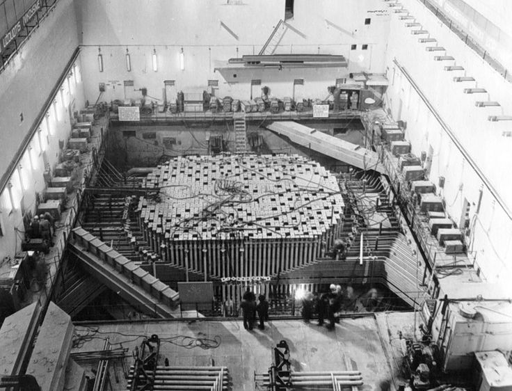 Image result for chernobyl reactor construction