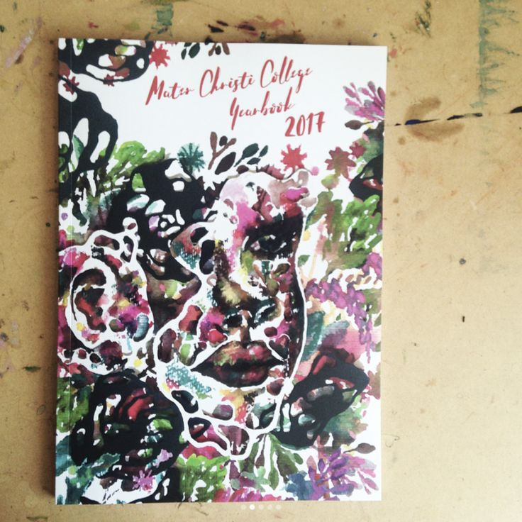 Well here it is! Freshly printed, the final cover design by Renee Riotto for the Mater Christi College Yearbook 2017!! Complete with spot gloss over the text and face. #art #painting #illustration #watercolourpaint #mixmediaart #mixmediapainting #watercolourpainting #sketching #graphicdesign #artsy #sketchdaily #sketchaday #illustrationoftheday #artjournal #portrait #yearbook #instagram #adobeindesign #adobephotoshop #yearbook #yearbookcover #yearbookdesign #reneeriotto #riotto #renee