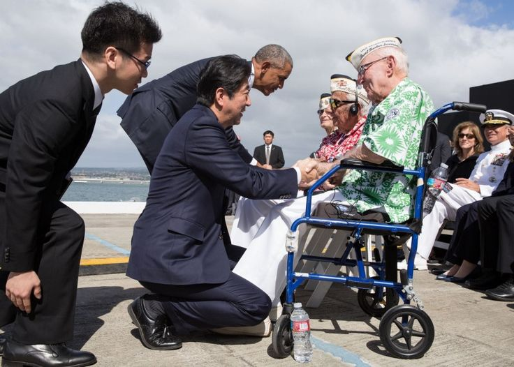 Today, President Obama welcomed Prime Minister of Shinzo Abe of Japan to Hawaii to further reconciliation between our people and the close…