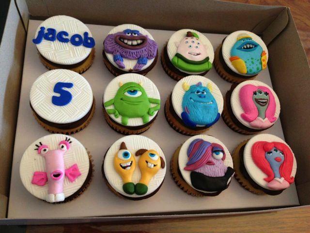 Monsters University Cupcakes