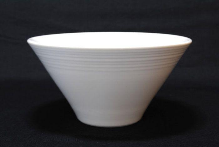 白のラーメン丼ルミネ18cm深ボール