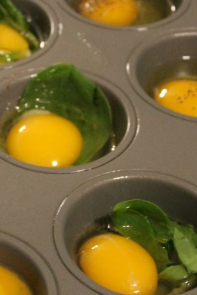 Easy muffin tin eggs. These are paleo friendly also.