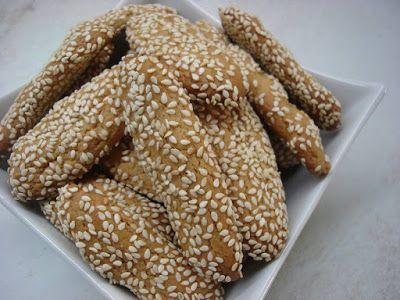 Κουλουράκια με ταχίνι τραγανά και γευστικά!! ~ ΜΑΓΕΙΡΙΚΗ ΚΑΙ ΣΥΝΤΑΓΕΣ