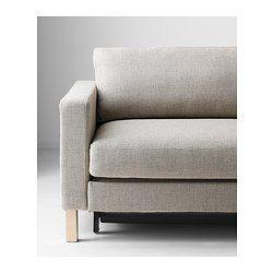 KARLSTAD 3-seters sovesofa - Tenö lys grå - IKEA