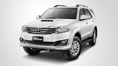 Fortuner VN Turbo Eksterior