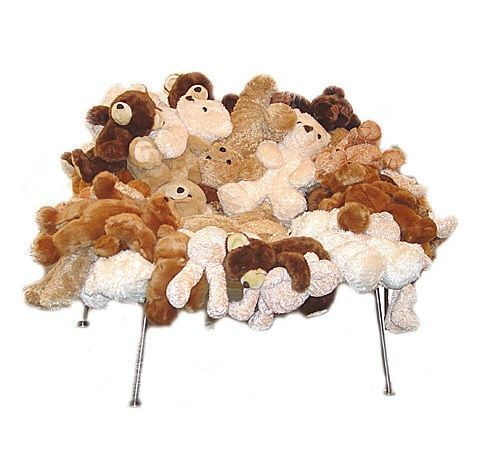 Finally a use for those plush toys from your teddy bear party