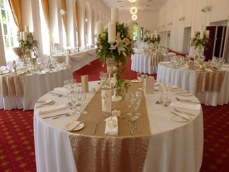 silver chair covers uk prouve standard replica 57 best wedding table linens wales images on pinterest | tables, and ...