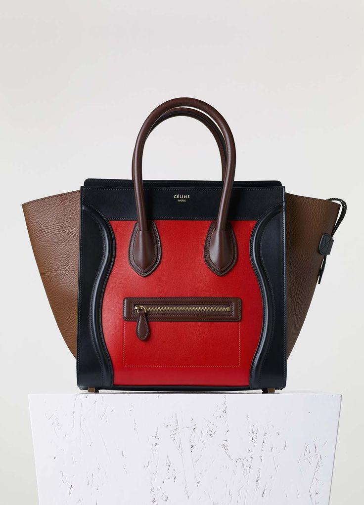 celine luggage bag replica - C��line (!!!) - Micro Luggage Handbag in Multicolor Bullhide ...