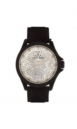 THE SARTORIAL BLACK FULL PAVE Toy Watch