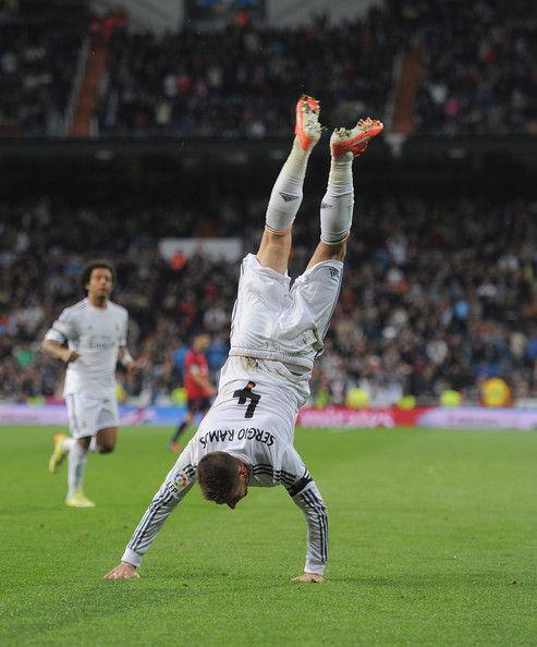 Sergio Ramos - Real Madrid CF v CA Osasuna - La Liga