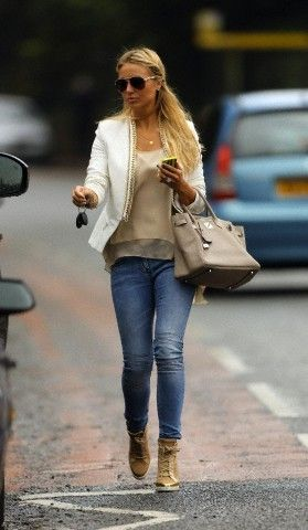 Alex Curran Gerrard Photograph
