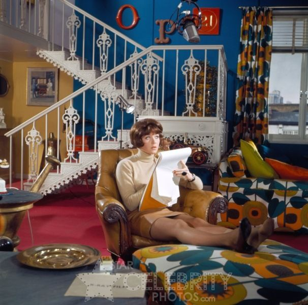 Tara King's home, The Avengers. This was my dream home when I was growing up. Had to be complete with firemans pole of course.