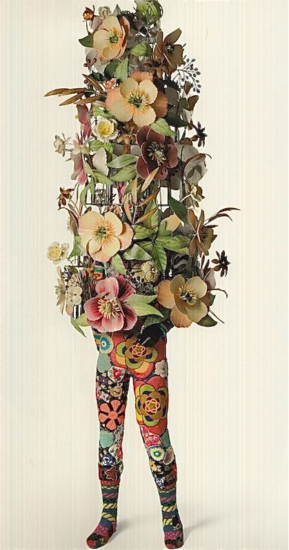 A flower Sound costume by Nick Cave