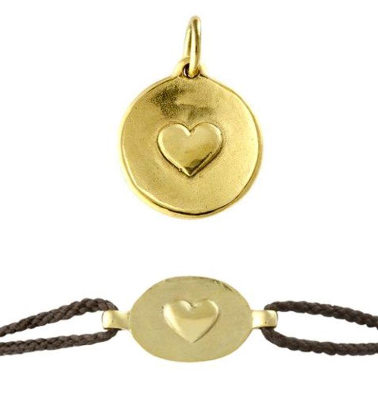 Petite médaille en bronze à utiliser en bracelet pour vous, pour vos invités...