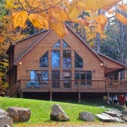 18 best Maine Log Cabin Rental images on Pinterest