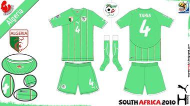 Algeria | away jersey | 2010