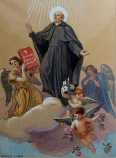 Santo franciscano do dia - 22/01 - São Vicente Pallotti Sacerdote da Terceira Ordem (1795-1850).  Fundou a Congregação dos Padres Palotinos e das Irmãs Palotinas