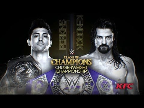 WWE CRUISERWEIGHT CHAMPIONSHIP: TJ Perkins vs Brian Kendrick - WWE CLASH OF CHAMPIONS 2016 HIGHLIGHT
