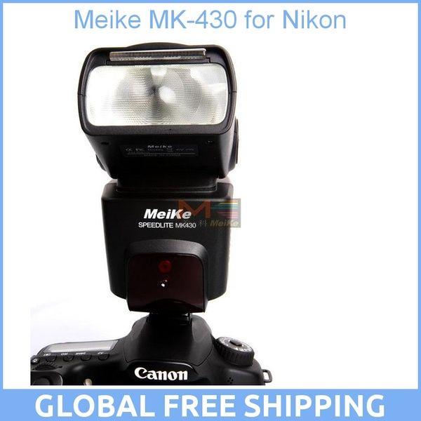 Майке МК-430 MK430 Ttl-вспышки Speedlite для Nikon D7100 D7000 D5100 D5300 D3100 D600 D750 D5500 D800 D3200 D90 D80 D300s