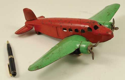 Vintage Toy Airplane