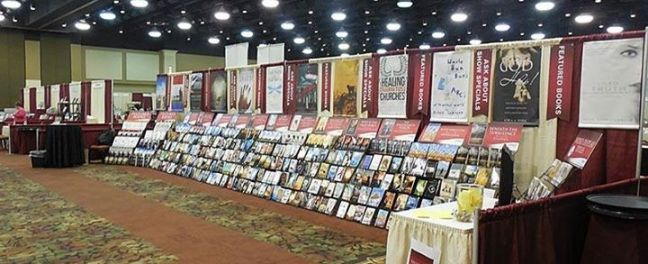 """My publisher, Xulon Press, displayed my book at the Winter Expo in Hershey, PA in January 2014! My book made the top shelf of the """"Featured Books"""" display!"""