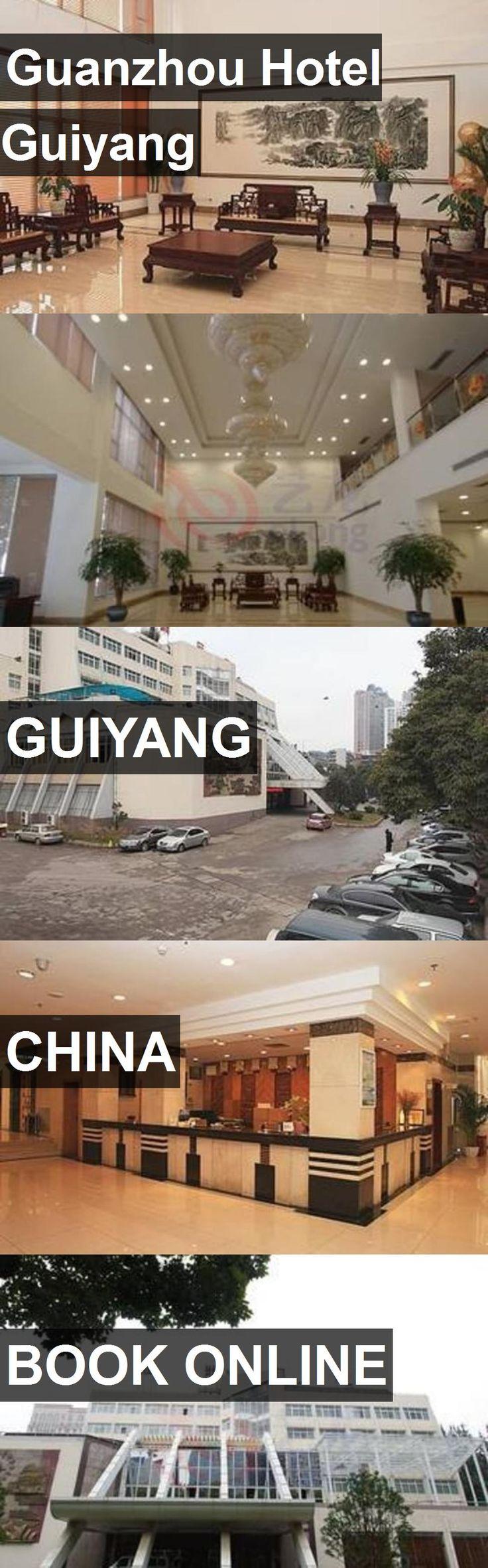 Hotel Guanzhou Hotel Guiyang in Guiyang, China. For more information, photos, reviews and best prices please follow the link. #China #Guiyang #GuanzhouHotelGuiyang #hotel #travel #vacation