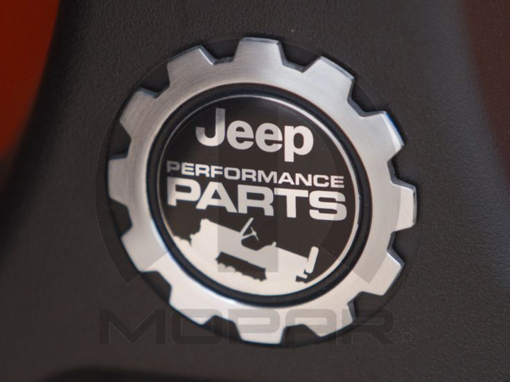 Jeep® Performance Parts Vehicle Badge
