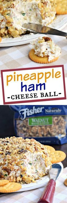 If you're looking for the most delicious game day snack, this Pineapple Ham Cheese Ball recipe is your answer. The sweet, salty, savory snack that keeps you coming back for more!