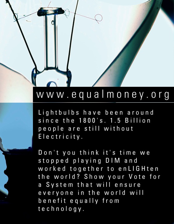 MFM Art: Electricity is a Basic Human Right http://www.art.matterfreeman.com/2012/11/electricity-is-basic-human-right.html
