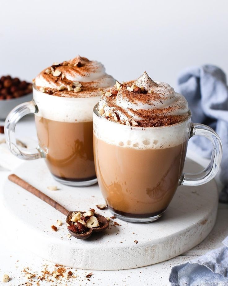 Cosying Up With Hazelnut Lattes Recipe Below Super Creamy