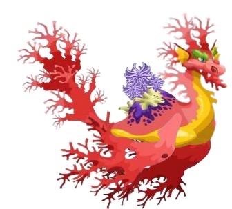 coral dragon   Coral Dragon - Dragon City Wiki