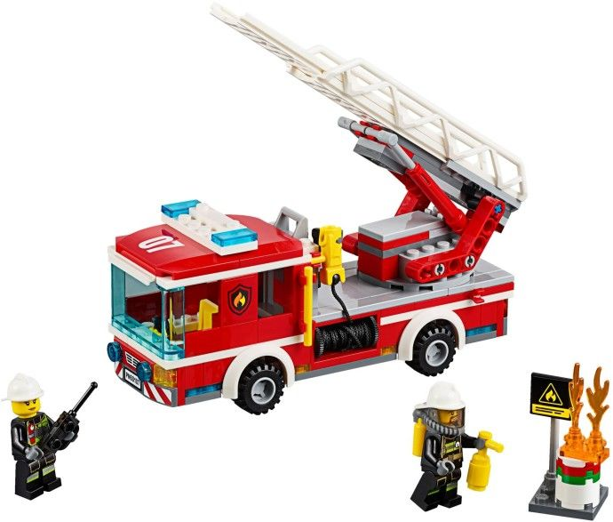 City Fire Ladder Truck 60107