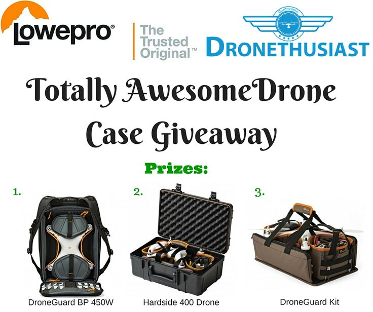 Super Awesome Lowepro Drone Cases Giveaway