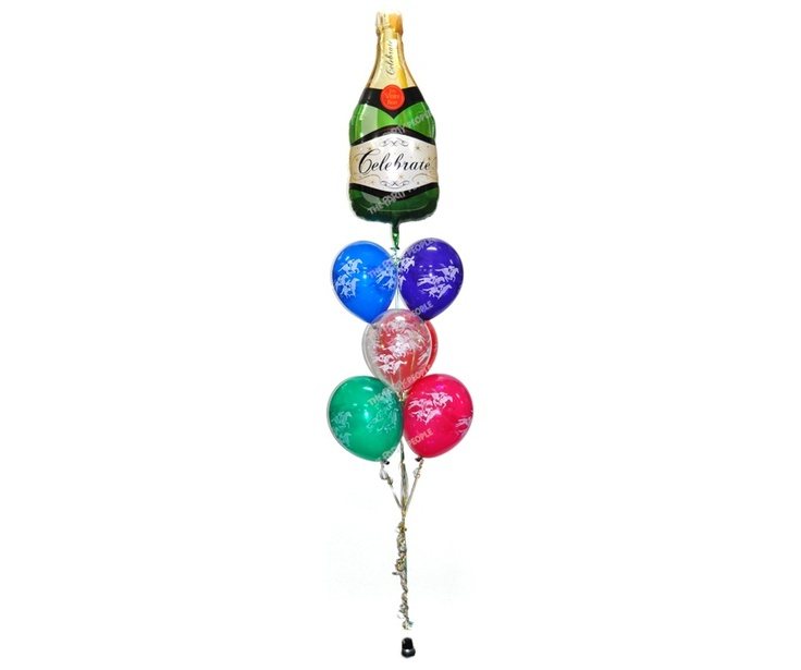 Balloon Bouquet - Deluxe Melbourne Cup