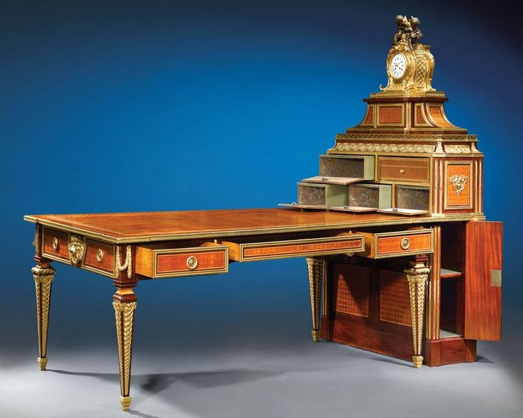 Important Sormani Partner's Desk and Matching Cartonnier 2