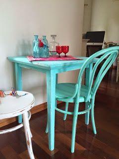 72 mejores im genes sobre sillas pintadas en pinterest for Colores vintage para muebles