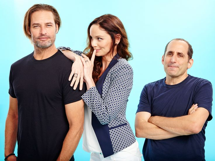 Cast of Colony: Josh Holloway, Sarah Wayne Callies and Peter Jacobson